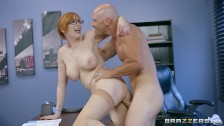 Brazzers Redhead Milf get to her boss